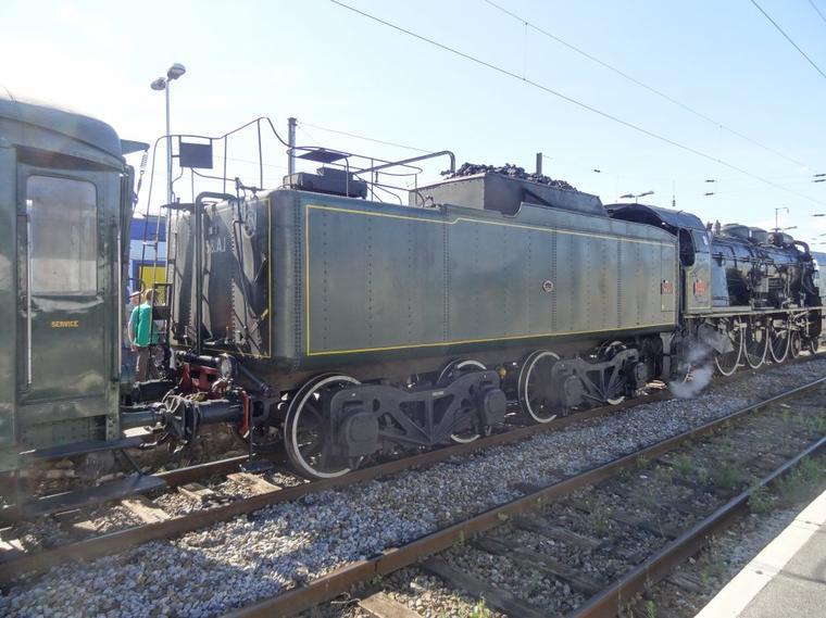La 231 K 8 à Douai (2)
