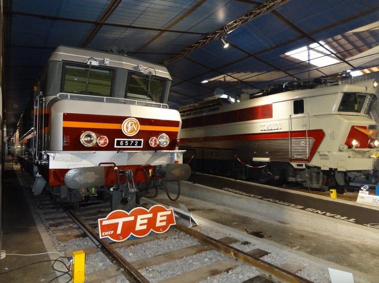 Visite de la Cité du Train à Mulhouse