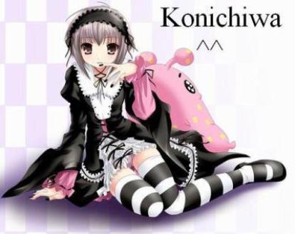 Konichiwa ! ^^