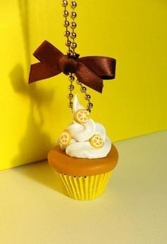 "Sautoir "" Cupcake au citron """
