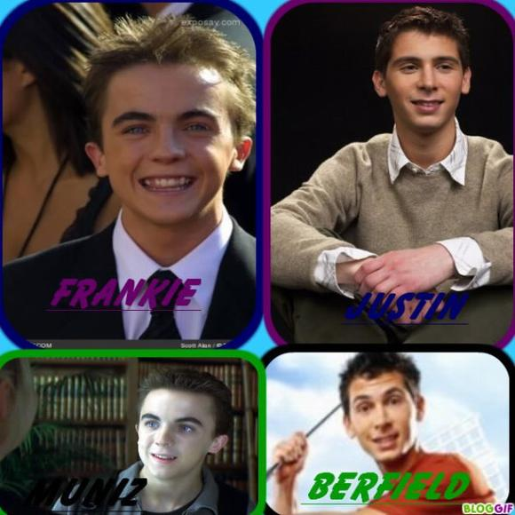 Frankie Muniz And Justin Berfield