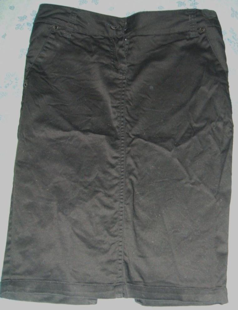 jupe noir taille s et jupe effet  jean taille s
