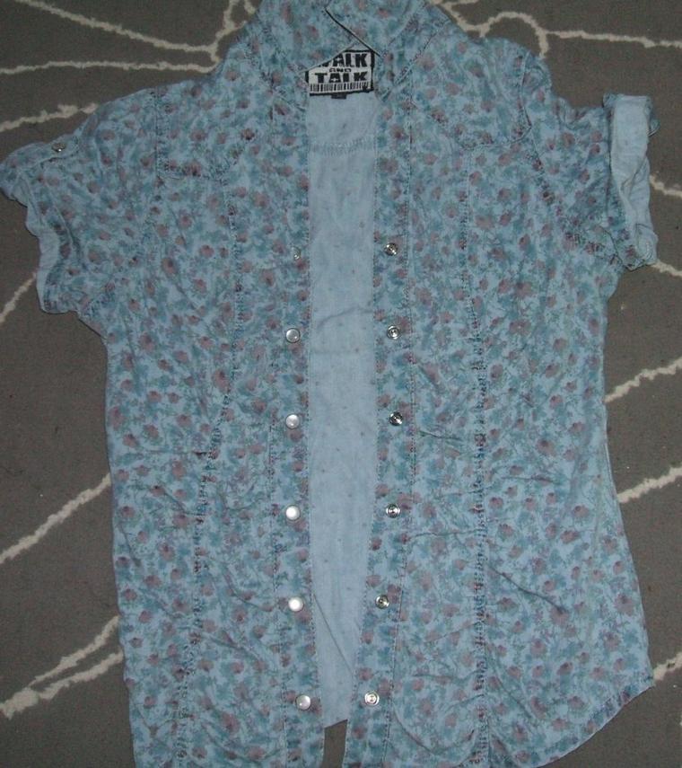chemise en jean taille 38