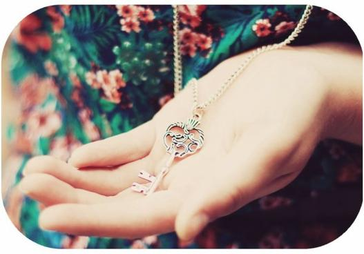 La clé de mon coeur ..