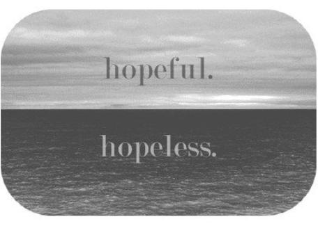 Thème: L'espoir