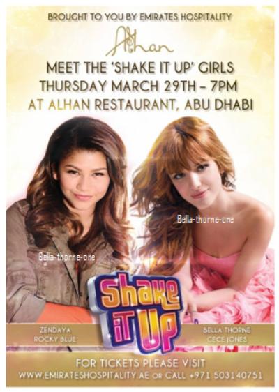 Shake It Up - Abu Dhabi