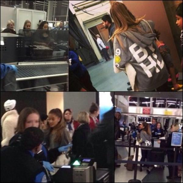6 Decembre – A l'aeroport