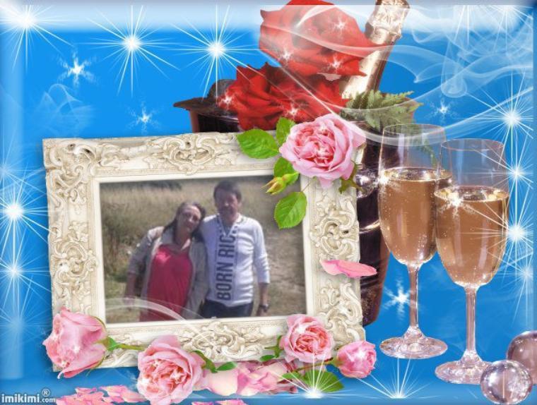 +++++ Créations cadeaux de mon grand ami Thierry du blog ( Ami thierry 2810 ) en l'honneur de mon anniversaire de mariage merci mon grand ami pour ces merveille reçois toute mon amitiés sincère ton grand ami p@trick +++++