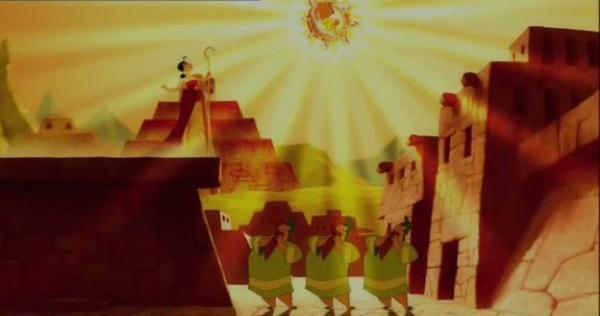 L'histoire de Pocaya, la bergère amoureuse du soleil