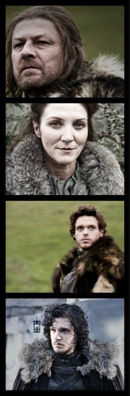 Fiche Personnage : La Famille Stark