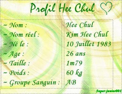 ▪ Hee Chul ▪