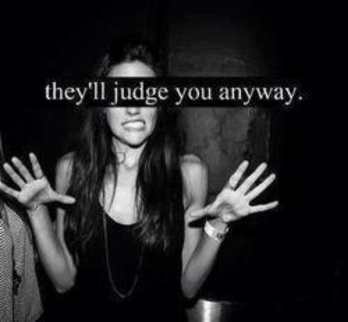 you judge
