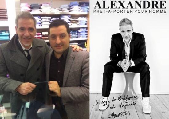#98. Partenariat avec Alexandre, prêt à porter pour Homme.