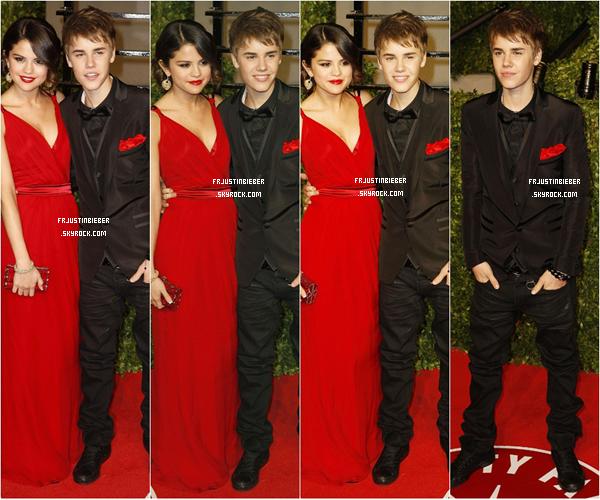 09/02/2012 : Découvrez les photos, qui viennent de sortir, de Jelena au Vanity Fair 2011. Justin et trés charmant dans sa tenue et souriant comme jamais pour moi c'est un grand Top