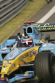 Les saisons d'Alonso, Partie II : Renault (2005)    (+) Citation de Fernando Alonso