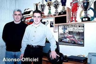 Le Défi du mois de Janvier : Les Parents de Fernando Alonso    Car derrière chaque champion ce trouve un père et une mère .