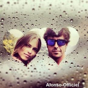 News  - Grand Prix - Défi - Autre ____--_.___-Un petit Week End de Paques pour les amoureux Fernando Alonso et Dasha Kapustina se retrouvent enfin !