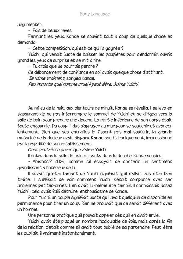 Body language (romant Yaoi-hard) n.4