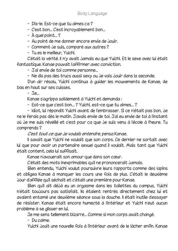 Body language (romant Yaoi-hard) n.6