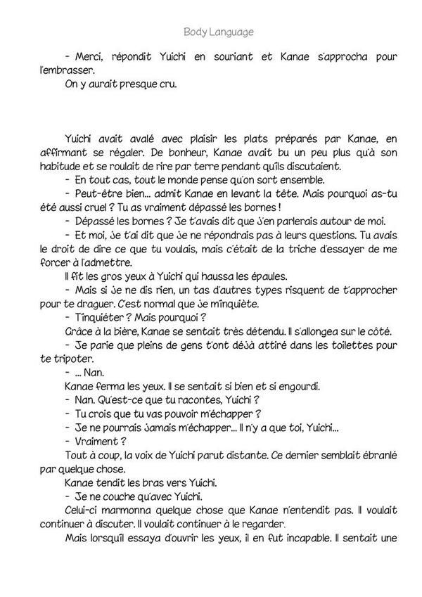 Body language (romant Yaoi-hard) n.8