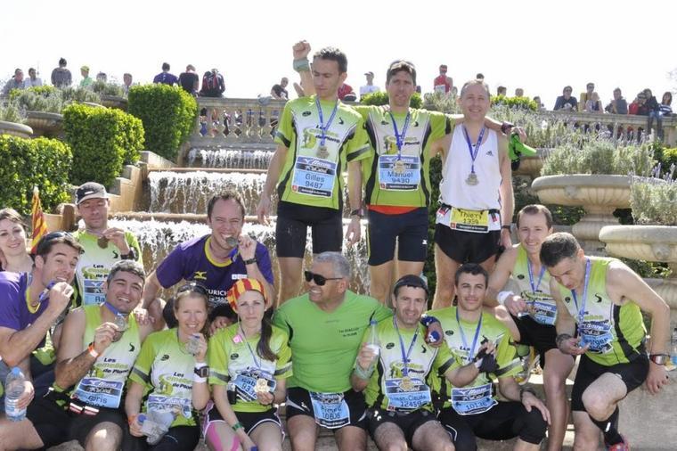 Marathon de Barcelone ,Dimanche 25 Mars 2012