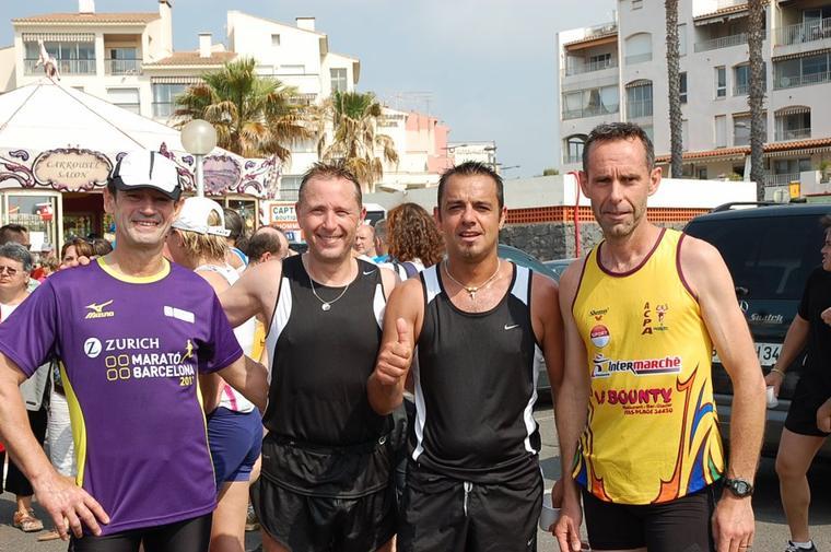 20ème édition de la course pédestre « Pentecôtaucap » Dimanche  27 mai 2012