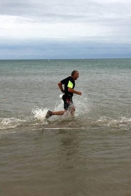 Les Pieds dans l'eau, 8,2 km le  9 août 2018