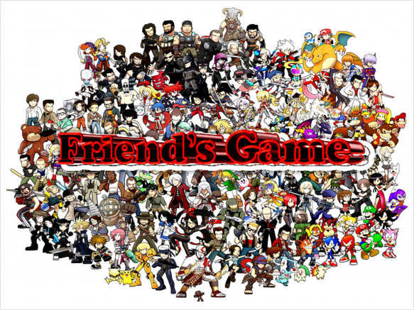 Logo Friend's Game