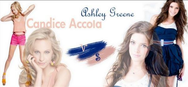 Candice Accola VS Ashley Greene