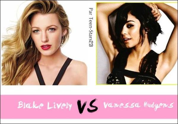 Blake Lively VS Vanessa Hudgens