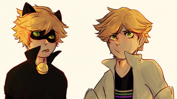 Adrien Agreste & Chat Noir