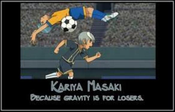 Parce que la gravité , c'est pour les nul !!!