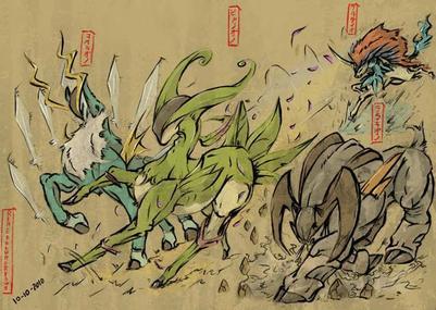 Mythologie Pokémon (longue, comme on les aime.)