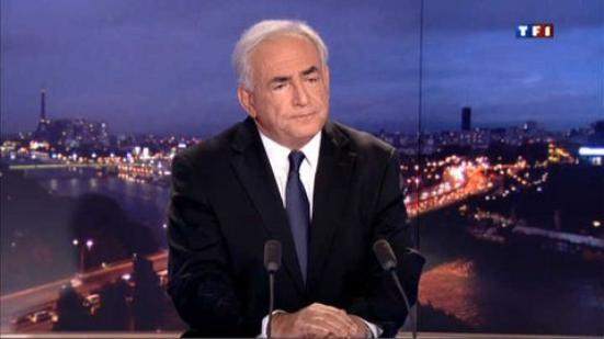 DSK au JT de TF1