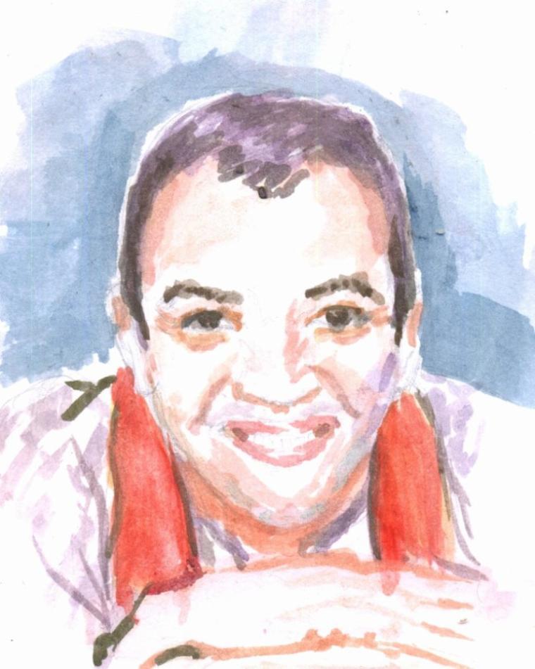 portrait Rachid el ouali