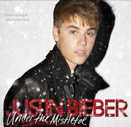 couverture de son prochain album Under the Mistletoe qui sortira le 1er novembre