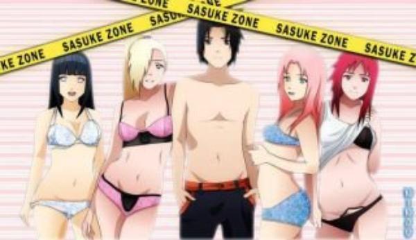 qui ne voudrais pas être a la place de sasuke et qui ne voudrais pas être au  côté de sasuke