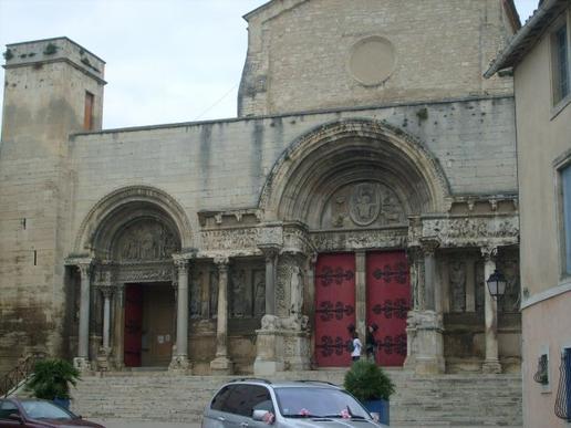 Compostelle Saint Gilles à Gallargues le Montueux