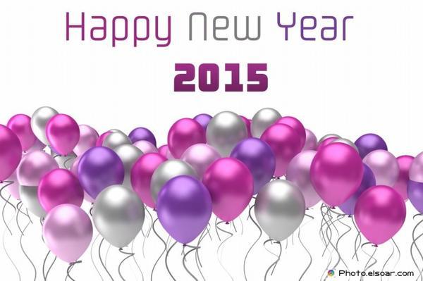 Bonne Année 2015 à tous. Passer de bonne fête en famille en bonheur richesse et santé à vous tous.
