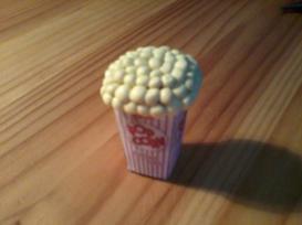 Tuto fimo Pot de pop corn !!!