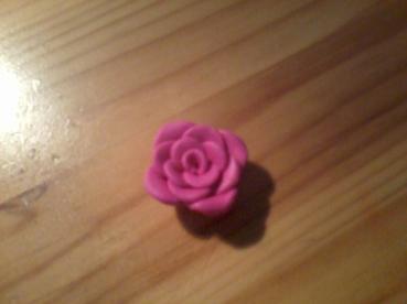 Tuto fimo rose !!!