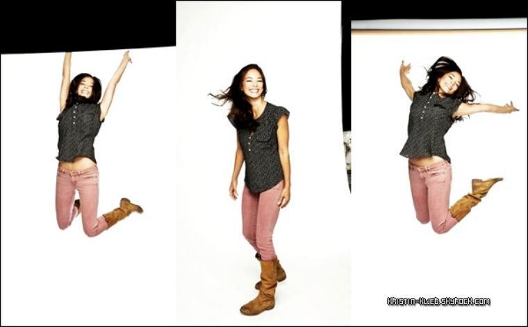 ( PARTIE 1) Photoshoot Promotionelle de Kristin Kreuk pour 'Ecstasy'. Vous aimez ?