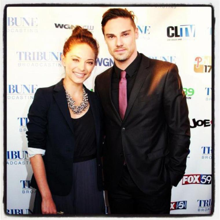 Kristin Kreuk & Stephen Amell in N.Y. (May 18th, 2012) for the Upfronts and the After Party (May 17th)