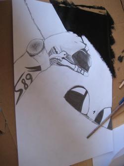 dessin crayon et peinture