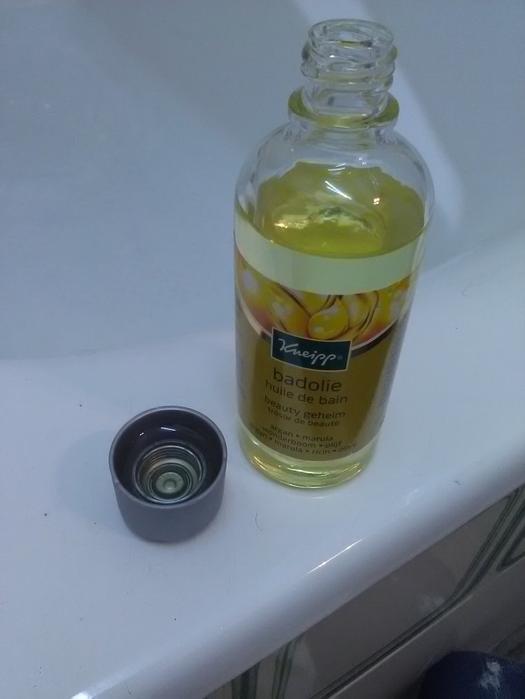 Mon test Huile de Bain Tresor de beauté Kneipp #Betrousse