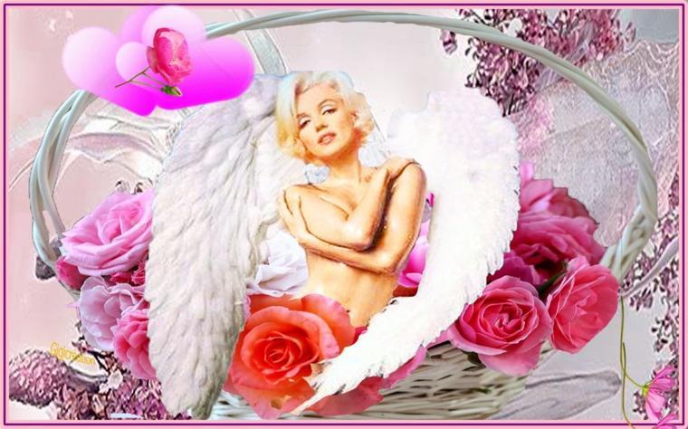 créa pour les fans de Marilyn