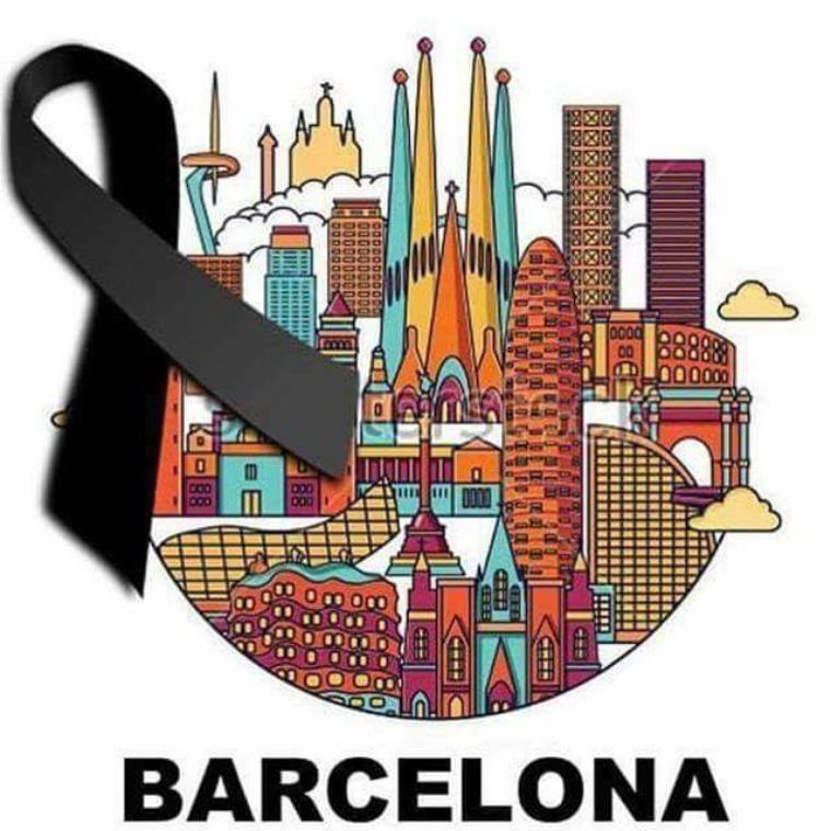 hommage aux victimes de Barcelone