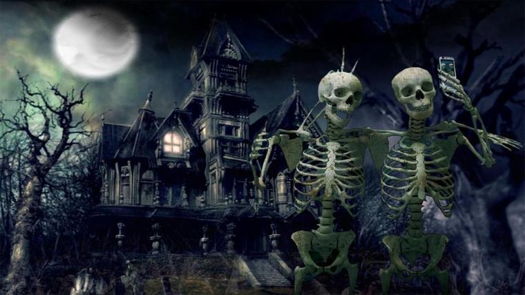 un soir d'halloween