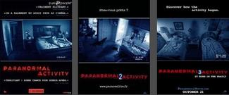 Paranormal Activity 1, 2 & 3
