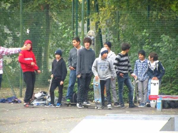 Bande de skateur ! Contest ST PIERRE 2011